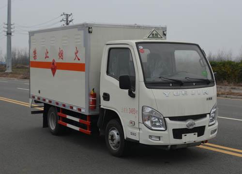 (厢长3.55米)跃进易燃气体厢式运输车