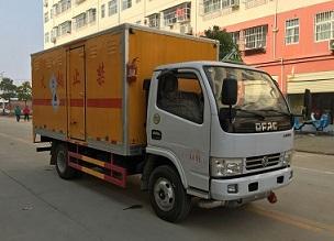 (廂長4.1米)東風D6毒性和感染性物品廂式運輸車