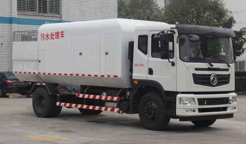 东风3吨污水处理车