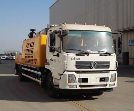 徐工车载式混凝土输送泵车图片