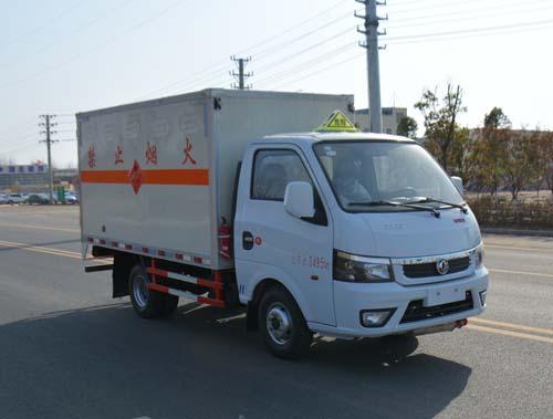 (厢长3.17米)东风途仪易燃气体厢式运输车