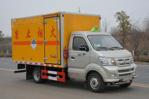 JHW5030XZWC雜項危險物品廂式運輸車