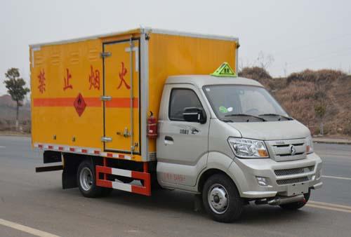 JHW5030XRYC易燃液體廂式運輸車