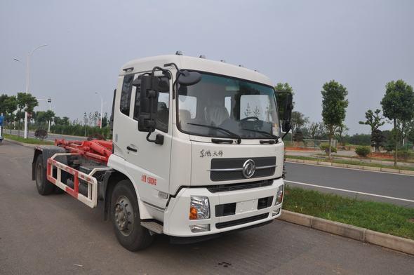 东风WFA5160ZXXEE5勾臂式垃圾车