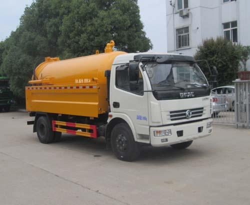 深圳4吨吸污车上户需要DPF吗?