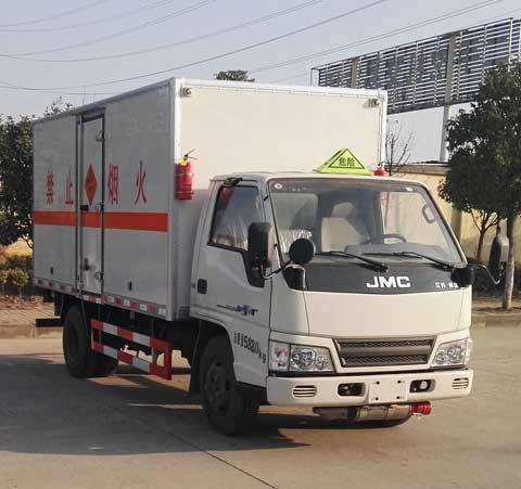 (厢长4.2米)江铃爆破器材运输车