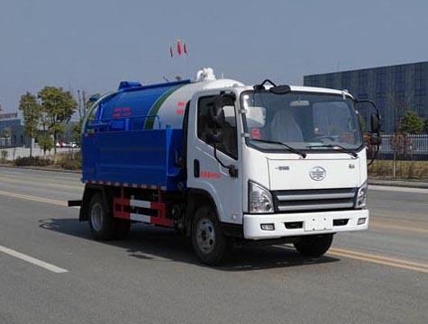 小型蓝牌3吨吸污车是你致富好帮手
