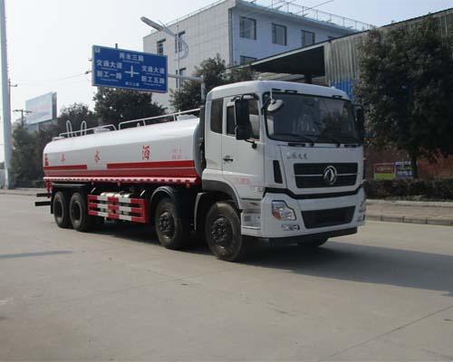 东风天龙22吨洒水车