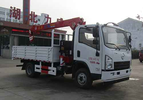 HLW5040JSQ5SX随车起重运输车