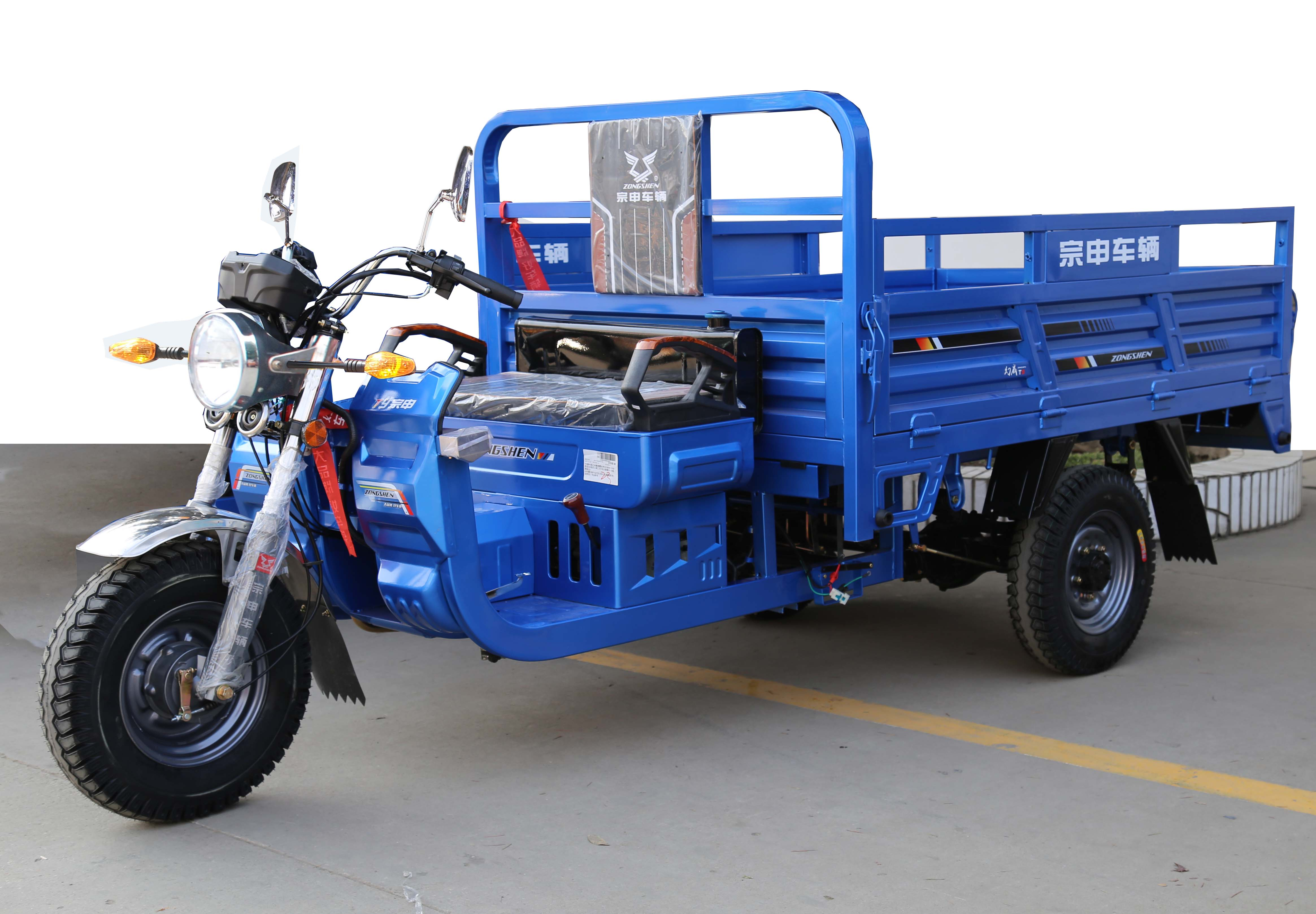 宗申正三轮摩托车