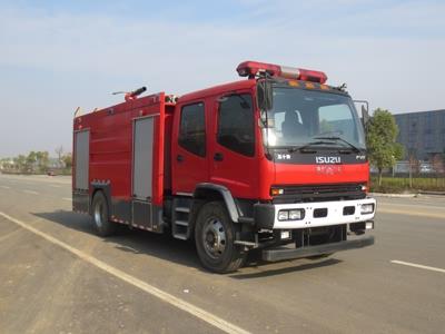 庆铃7吨泡沫消防车