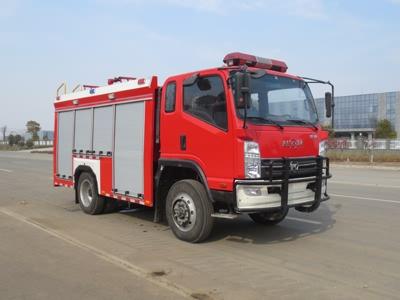 凯马单桥水罐消防车