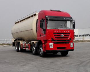 红岩新款M500散装水泥车(45方)