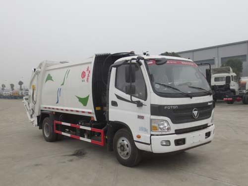 福田歐馬可6方壓縮式垃圾車