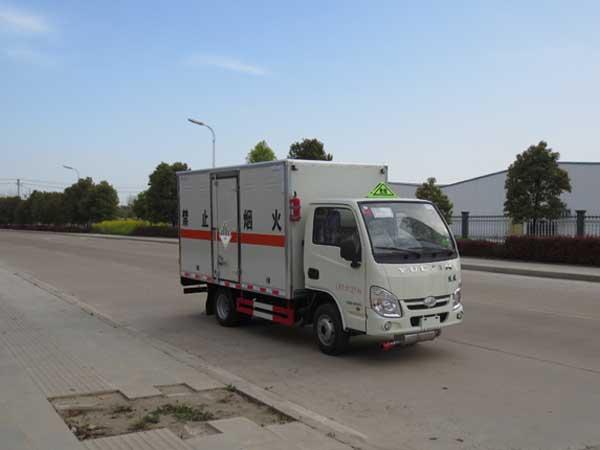 JDF5030XZWNJ5杂项危险物品厢式运输车