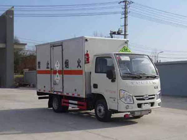 (廂長3.4米)躍進毒性和感染性物品廂式運輸車圖片