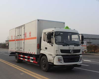 (厢长7.6米)东风杂项危险物品厢式运输车