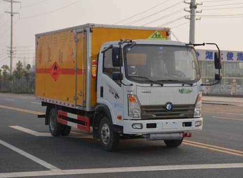 JHW5040XRQCDW易燃氣體廂式運輸車