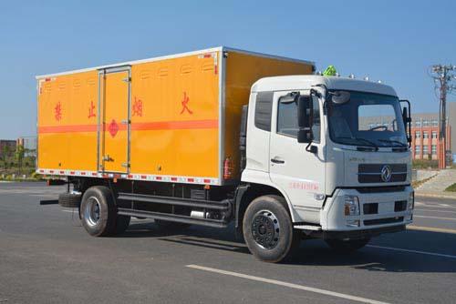JHW5180XRQD易燃氣體廂式運輸車