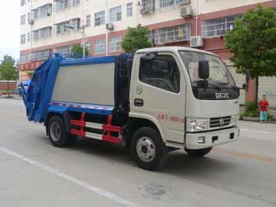 CLW5040ZYSD5压缩式垃圾车