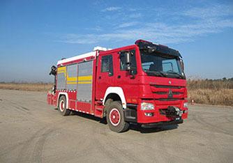 重汽豪沃搶險救援消防車