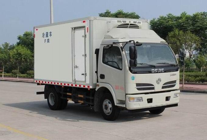 东风多利卡D7冷藏车厢长5.1米
