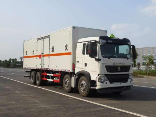 JDF5310XRYZ5易燃液体厢式运输车