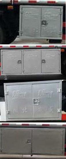 東風天錦10噸油罐車190馬力康明斯6缸圖片
