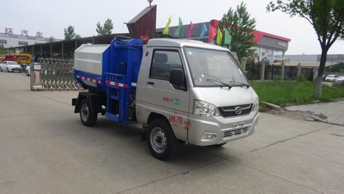 凯马2方挂桶垃圾车/凯马2方自装卸式垃圾车