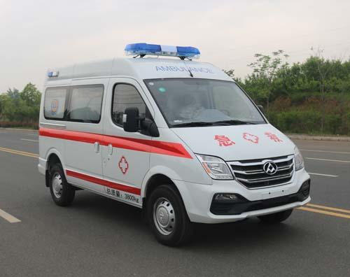 上汽大通V80运输型救护车价格