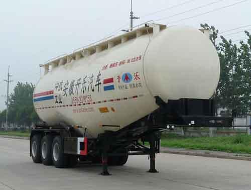 组图:安徽开乐专用车辆粉粒物料运输半挂车图片,粉粒物料运输车图片