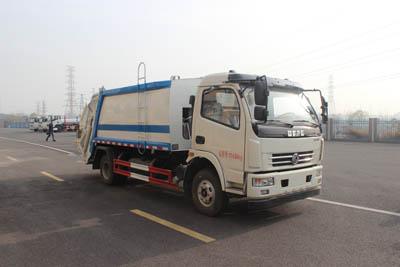 東風多利卡8方壓縮垃圾車朝柴156馬力