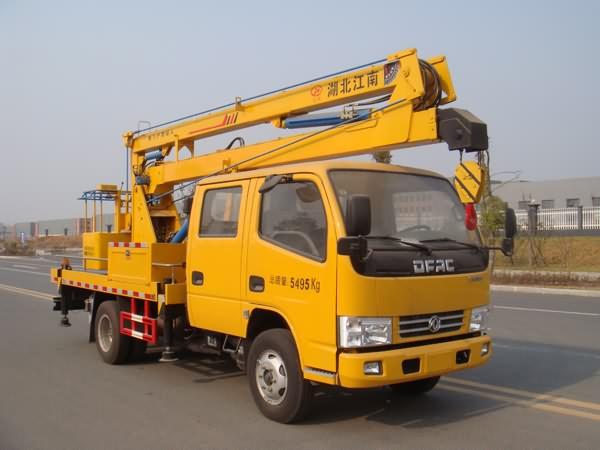 凯普特双排12-16米高空作业车
