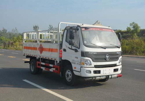 福田奧鈴4米氣瓶運輸車