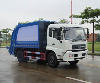 东风天锦10-14方压缩式垃圾车