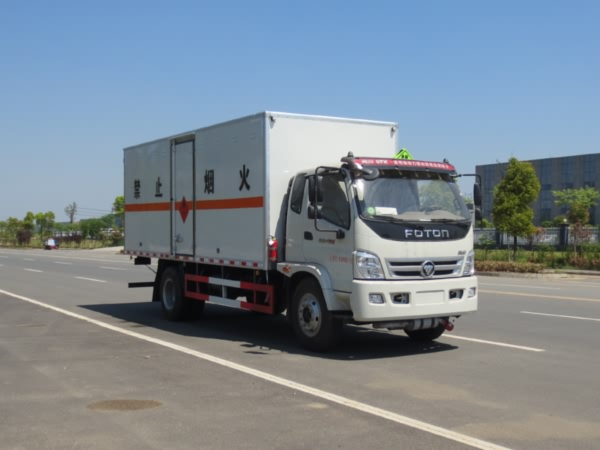 JDF5160XRYB5易燃液体厢式运输车