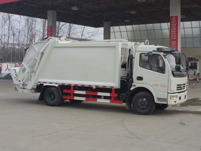 CLW5080ZYST5压缩式垃圾车