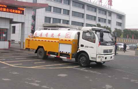 国五亚博体育官网多利卡清洗洒水车图片