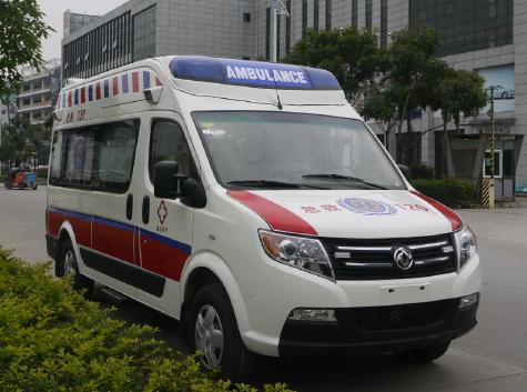 东风御风长轴运输型救护车