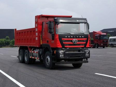 红岩密封式垃圾运输车