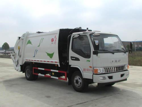 江淮8方壓縮式垃圾車圖片