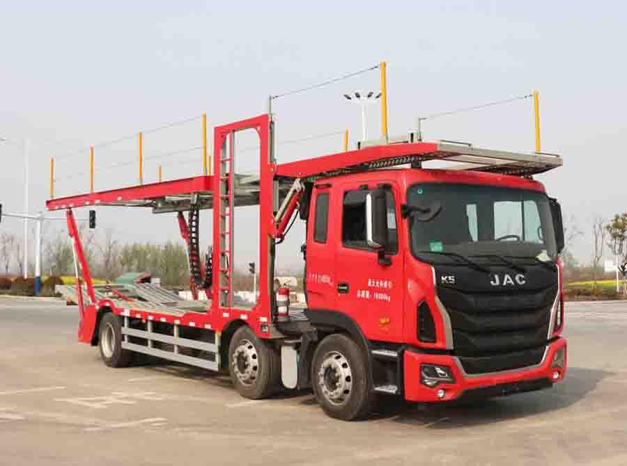 车辆运输车主要结构解放车辆运输车