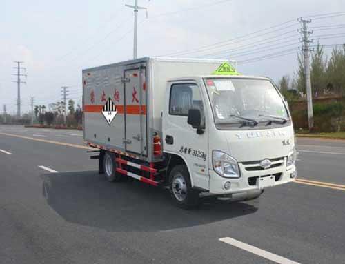 JHW5030XZWNJ雜項危險物品廂式運輸車