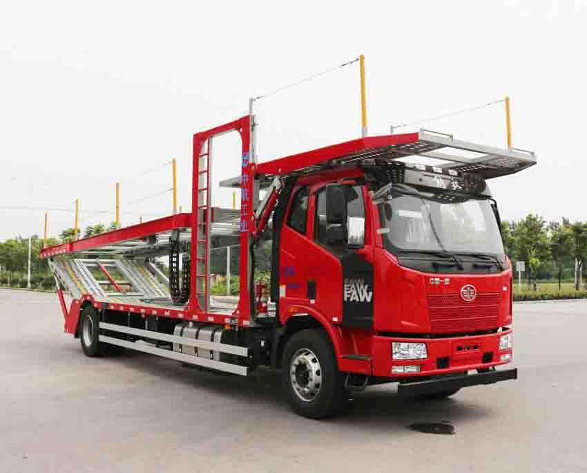 车辆运输车的主要配置小型车辆运输车