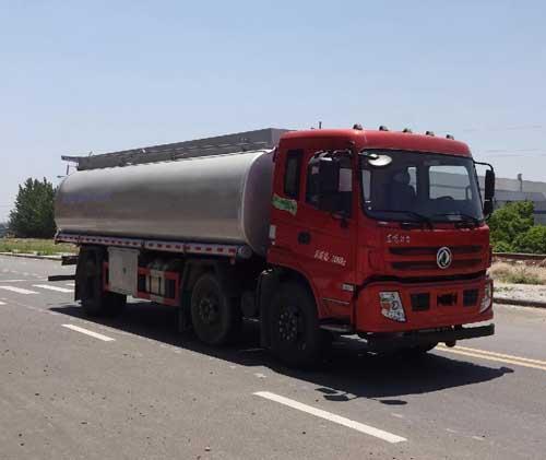 东风特商20方食用油运输油罐车