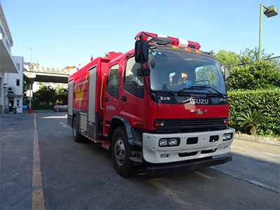 WHG5180GXFPM80泡沫消防车