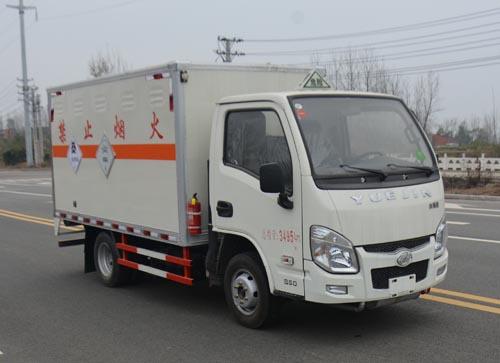 躍進小福星毒性和感染性物品廂式運輸車