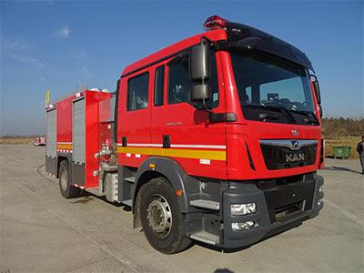 WHG5171GXFAP60压缩空气泡沫消防车