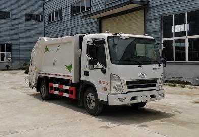CLW5070ZYSCH5压缩式垃圾车