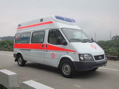 新全顺福星6-M型救护车的配置120救护车动态小视频图片